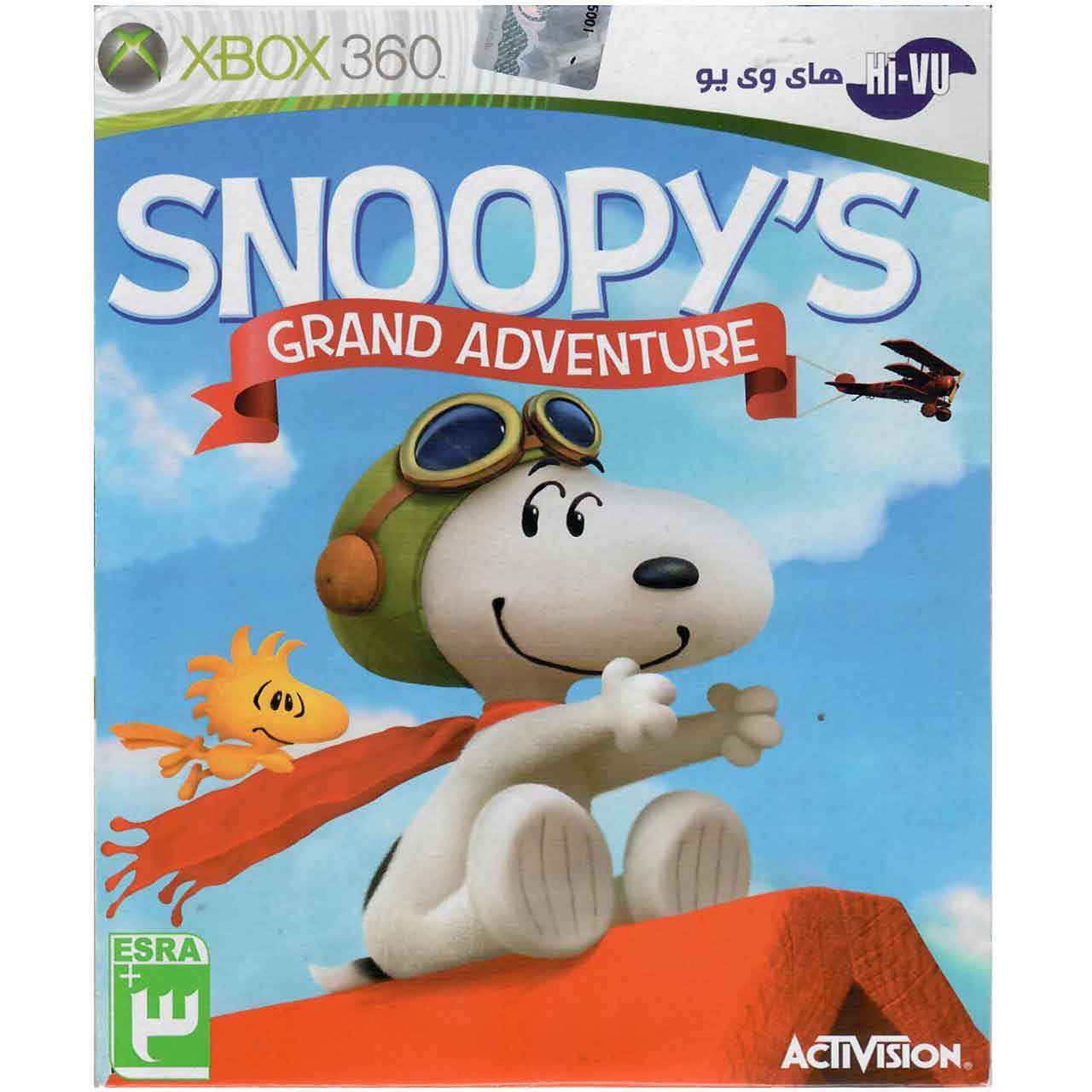 بررسی و {خرید با تخفیف} بازی Snoopys Grand Adventure مخصوص Xbox 360 اصل