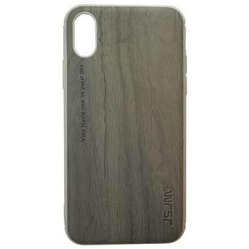 کاور جی اس جی ام مدل Wood Design مناسب برای گوشی اپل آیفون X