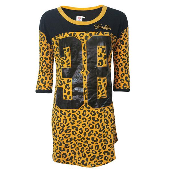 پیراهن زنانه فرانکلین مارشال مدل Neck 3/4 کد 746T