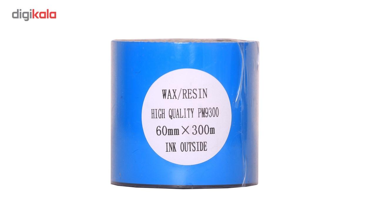 قیمت                      ریبون پرینتر لیبل زن NP مدل Wax Resin 60mm x 300m