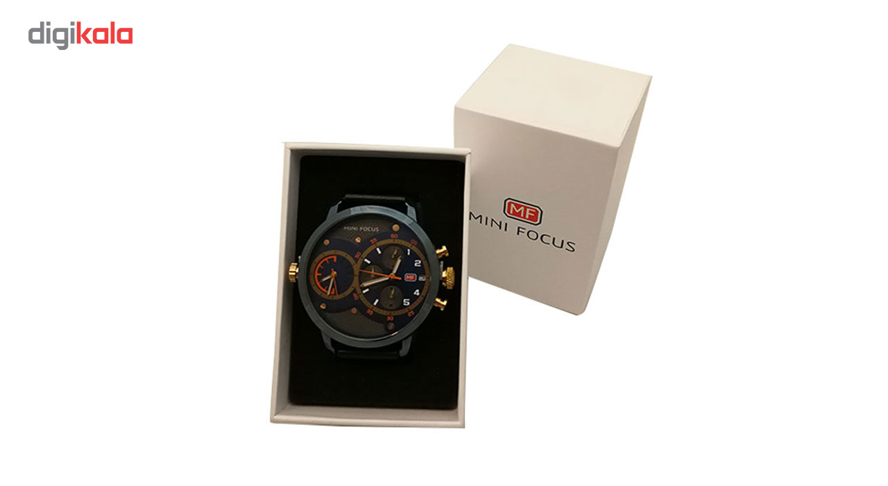 ساعت مردانه پنج موتوره  مینی فوکوس مدل MF0030G