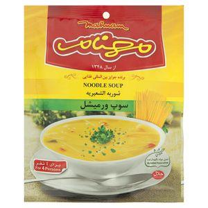 سوپ ورمیشل مهنام مقدار 75 گرم