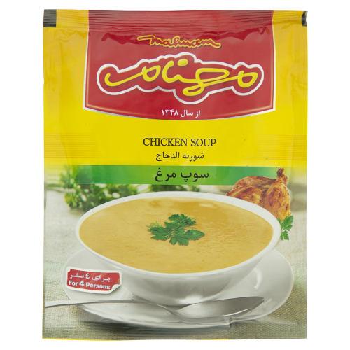 سوپ مرغ مهنام مقدار 75 گرم