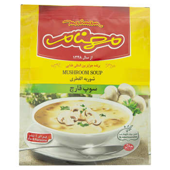 سوپ قارچ مهنام مقدار 75 گرم