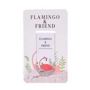 نشانگر کتاب مگنتی مدل Flamingo and friend 1