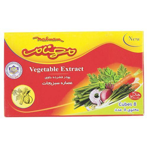 عصاره سبزیجات مهنام مقدار 80 گرم