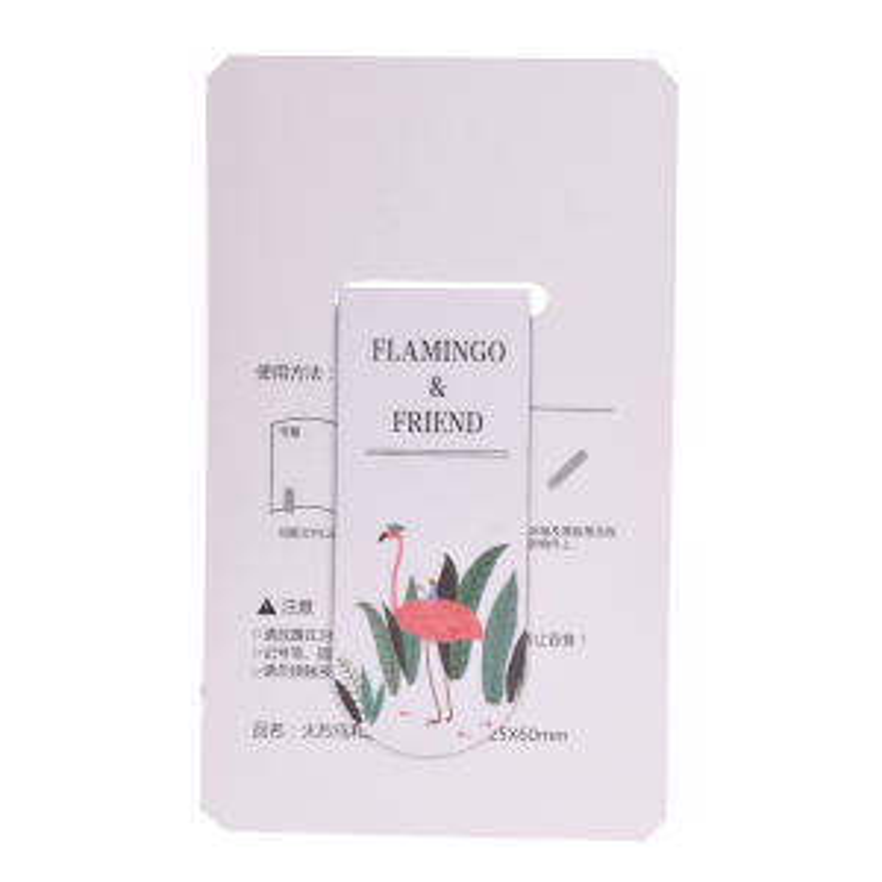 نشانگر کتاب مگنتی مدل Flamingo and friend 3