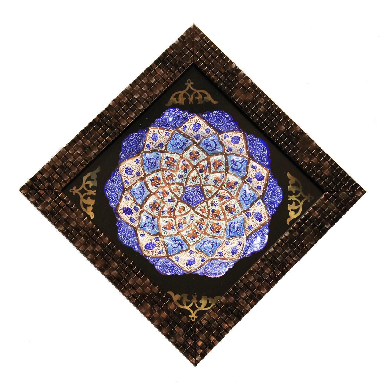 تابلو بشقاب میناکاری کد tm15-9