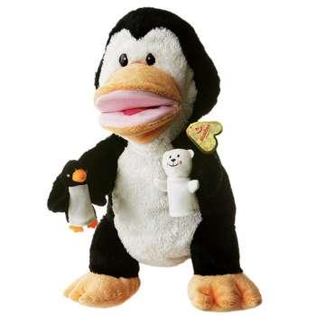 عروسک نمایشی آرورا مدل Penguin ارتفاع 33 سانتی متر