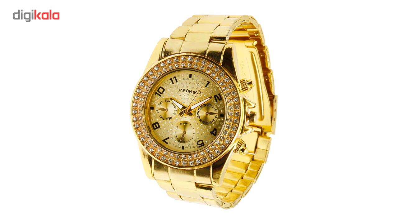 ساعت مچی عقربه ای زنانه ژاپن گلد مدل 0919-71132              خرید (⭐️⭐️⭐️)