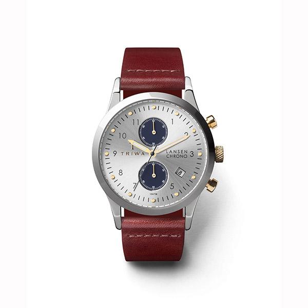 ساعت مچی عقربه ای تریوا مدل Loch Lansen Chrono 48