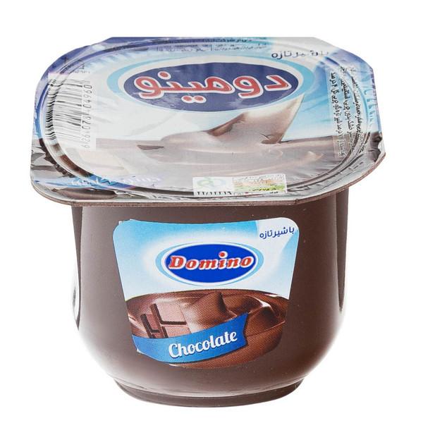 دسر شکلاتی دومینو مقدار 100 گرم