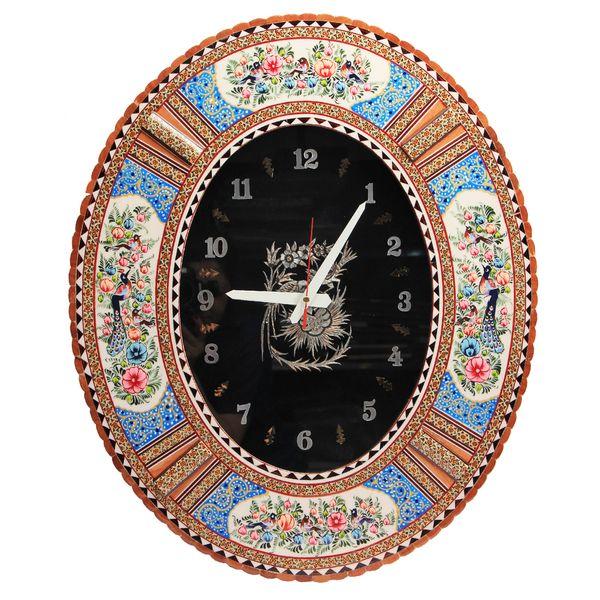 ساعت دیواری خاتم کاری کد dkh58