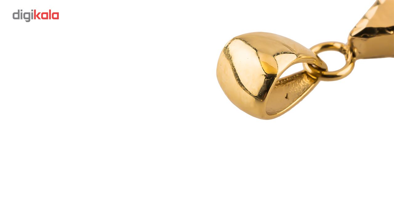 نیم ست طلا 18 عیار مدل 953