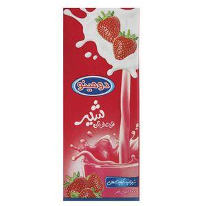شیر توت فرنگی دومینو مقدار 0.2 لیتر