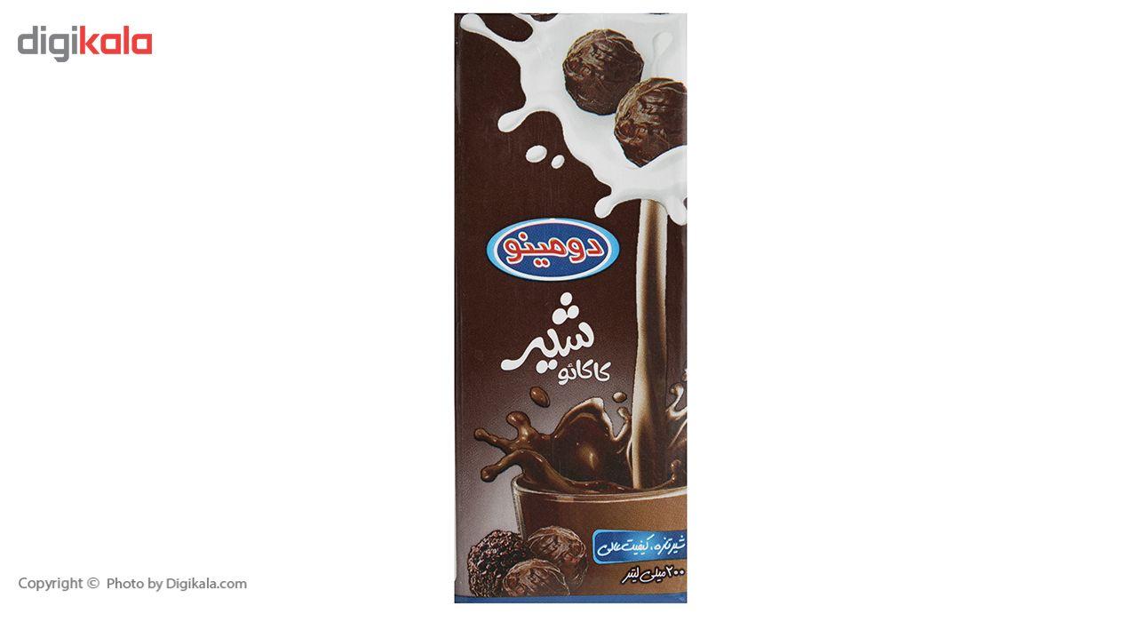 شیر کاکائو دومینو مقدار 0.2 لیتر main 1 2