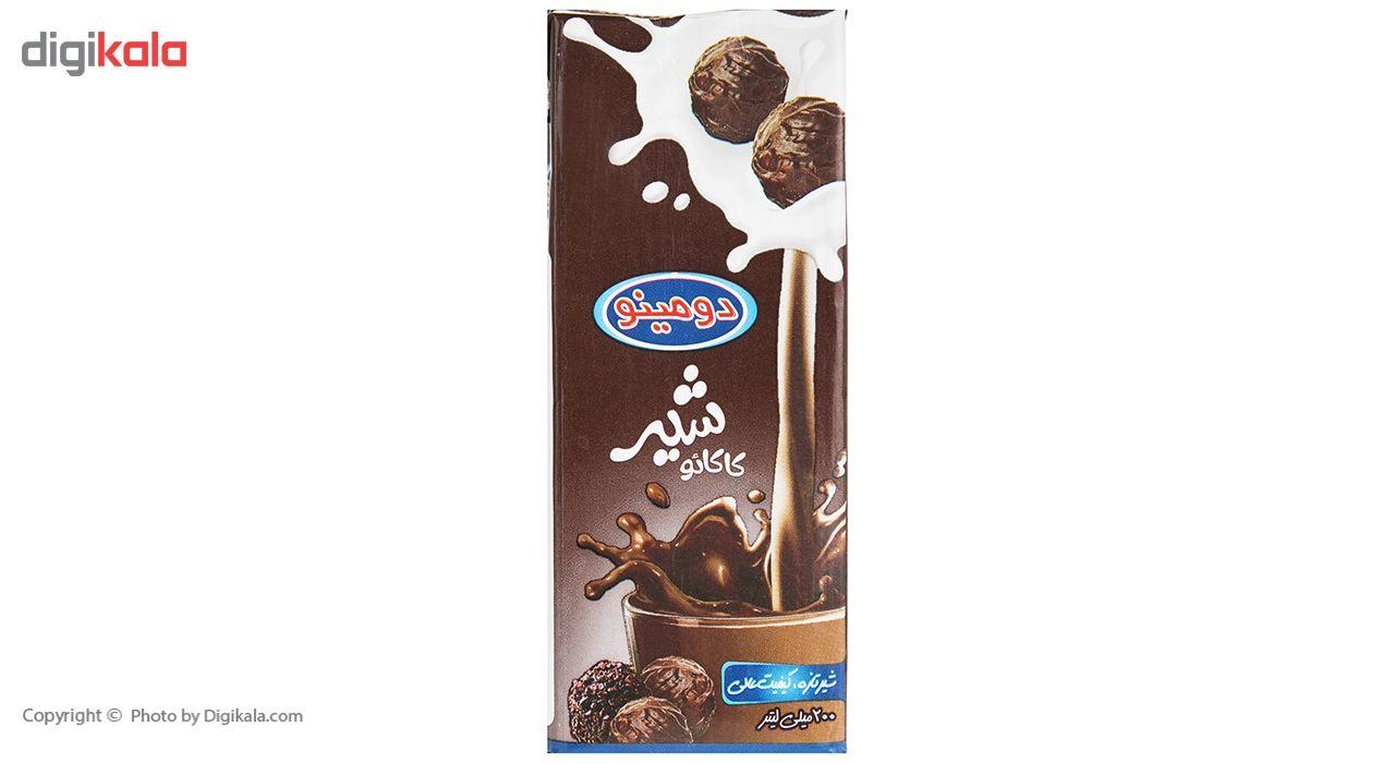 شیر کاکائو دومینو حجم 0.2 لیتر بسته 6 عددی main 1 2