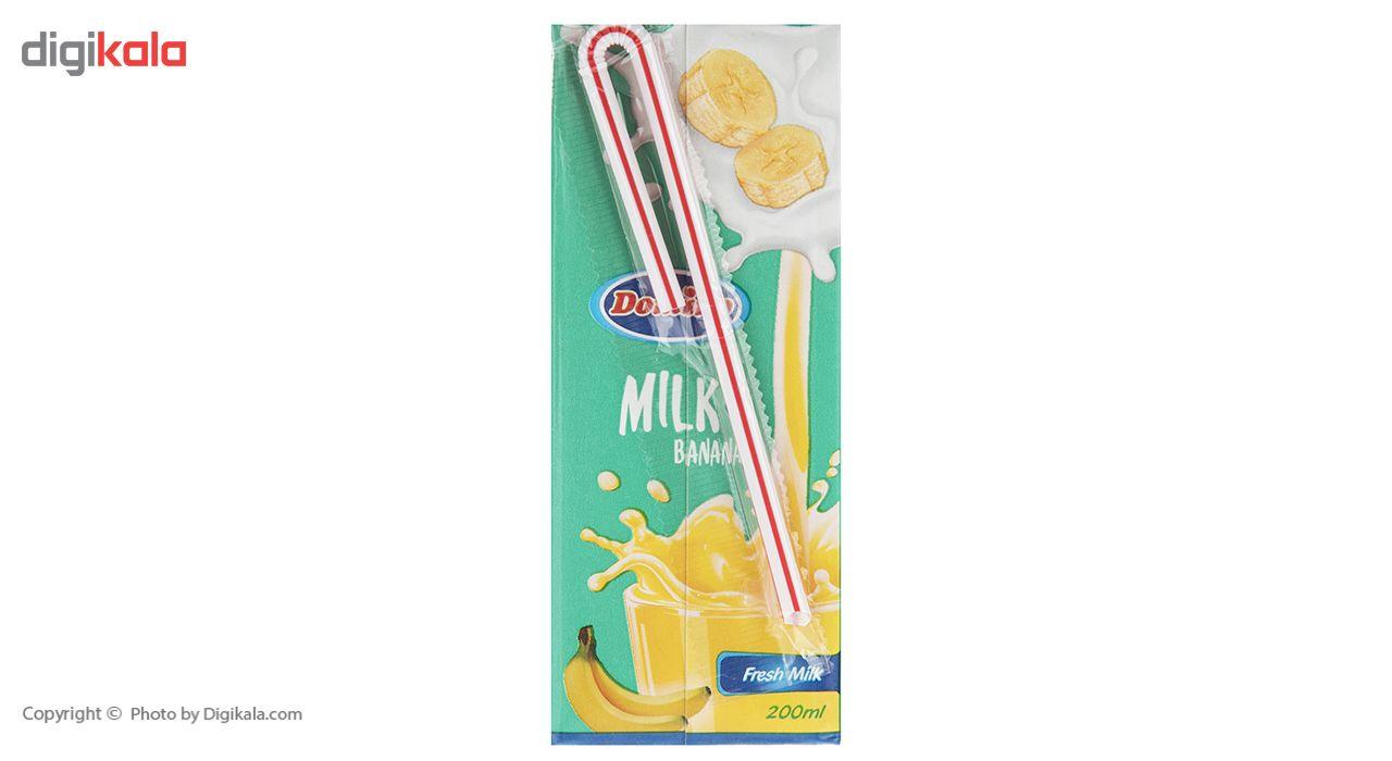 شیر موز دومینو مقدار 0.2 لیتر بسته 6 عددی main 1 3