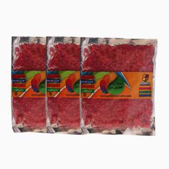 سنگ رنگی گلباران سبز کد 02 بسته سه عددی