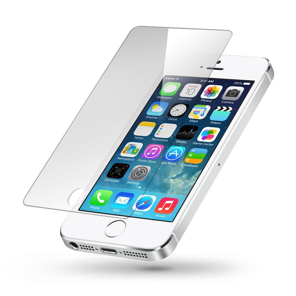 محافظ صفحه نمایش مدل Tempered 9H مناسب برای گوشی موبایل اپل iPhone 5/5s/SE
