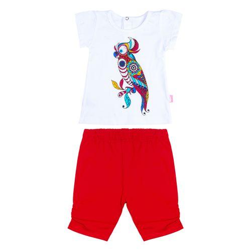 ست لباس نوزاد مهتا مدل طوطیا