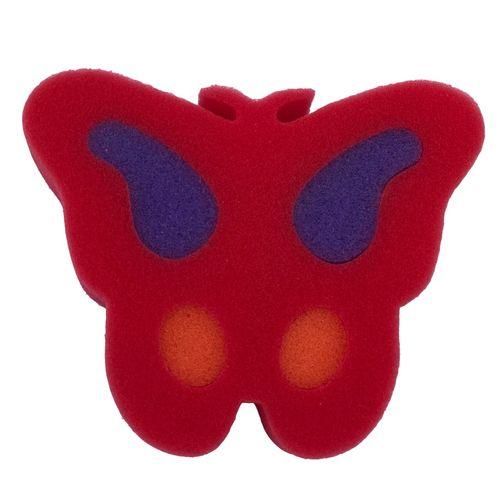 لیف حمام اسفنجی مدل پروانه