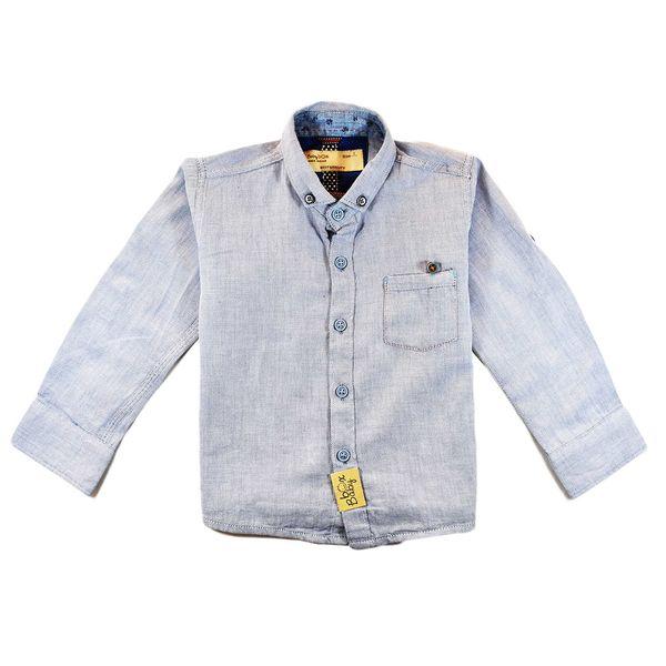 پیراهن پسرانه بیبی باکس مدلGrey