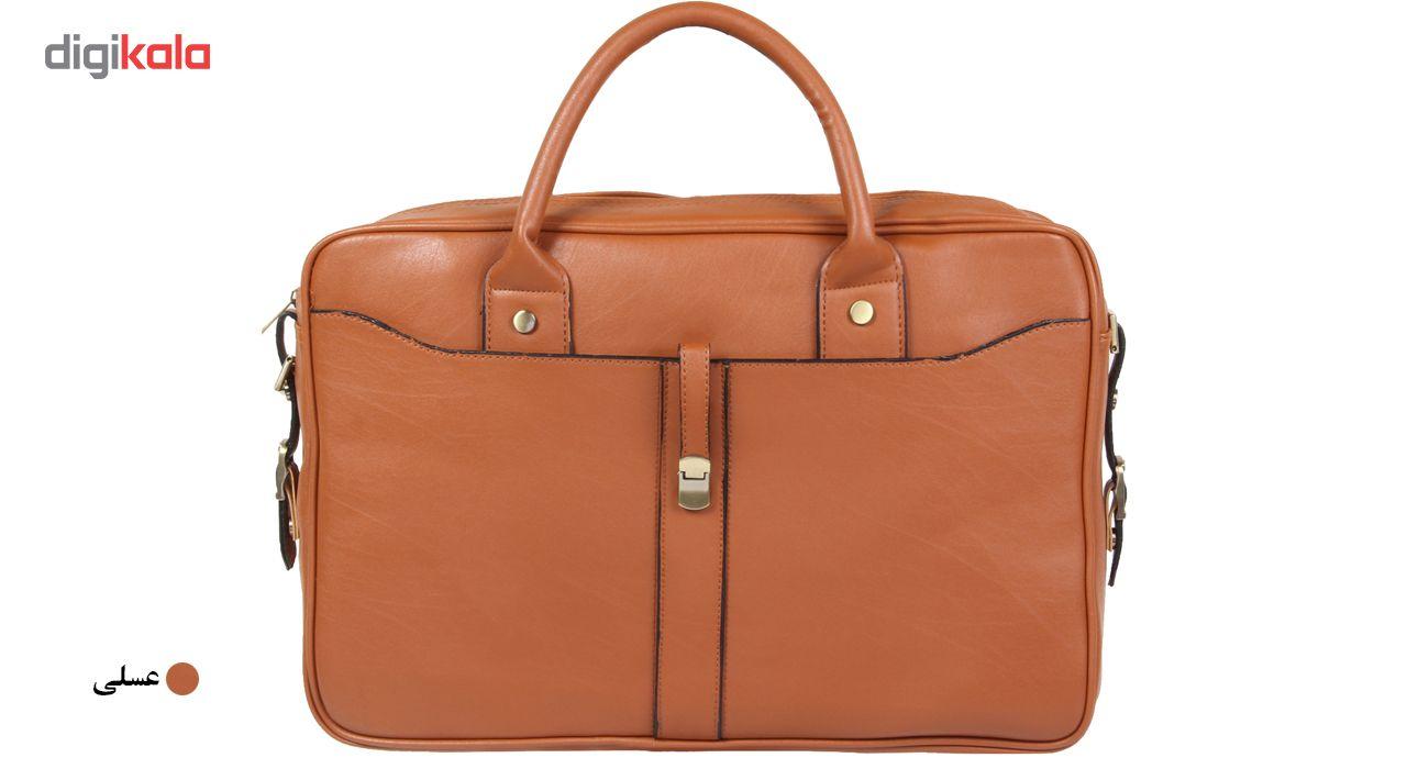 کیف اداری مدل 1-75-1372  1372-75-1 Leather Briefcase