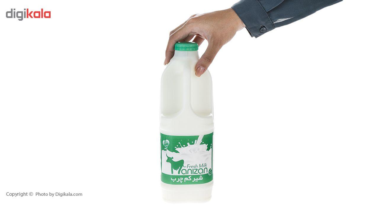 شیر کم چرب مانیزان مقدار 2 لیتر main 1 3
