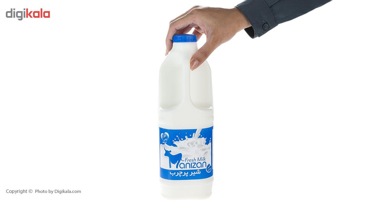 شیر پرچرب مانیزان مقدار 2 لیتر main 1 3