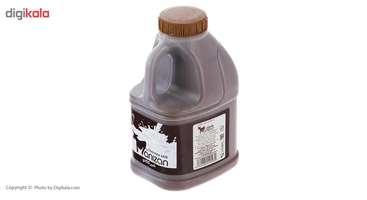 شیر کاکائو کم چرب مانیزان مقدار 0.5 لیتر main 1 2