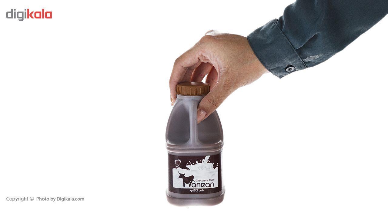 شیر کاکائو کم چرب مانیزان مقدار 0.5 لیتر main 1 4