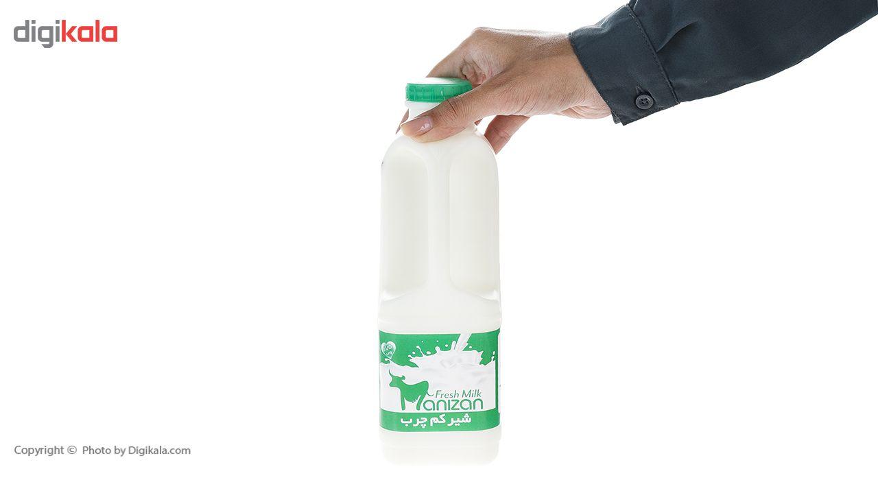 شیر کم چرب مانیزان مقدار 0.95 لیتر main 1 3