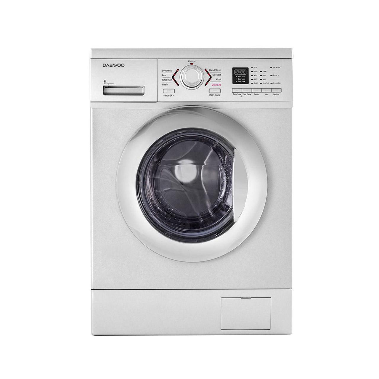 ماشین لباسشویی دوو مدل DWK-8410 ظرفیت 8 کیلوگرم