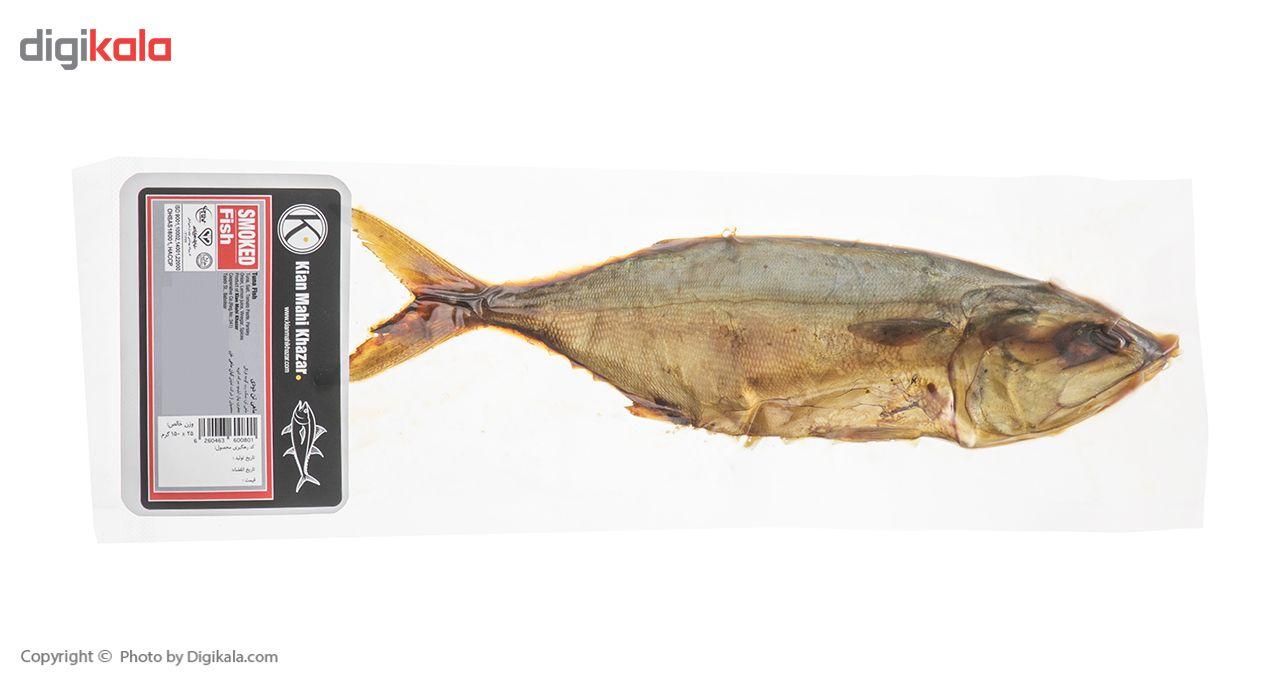 ماهی تن دودی کیان ماهی خزر مقدار 150 گرم main 1 2