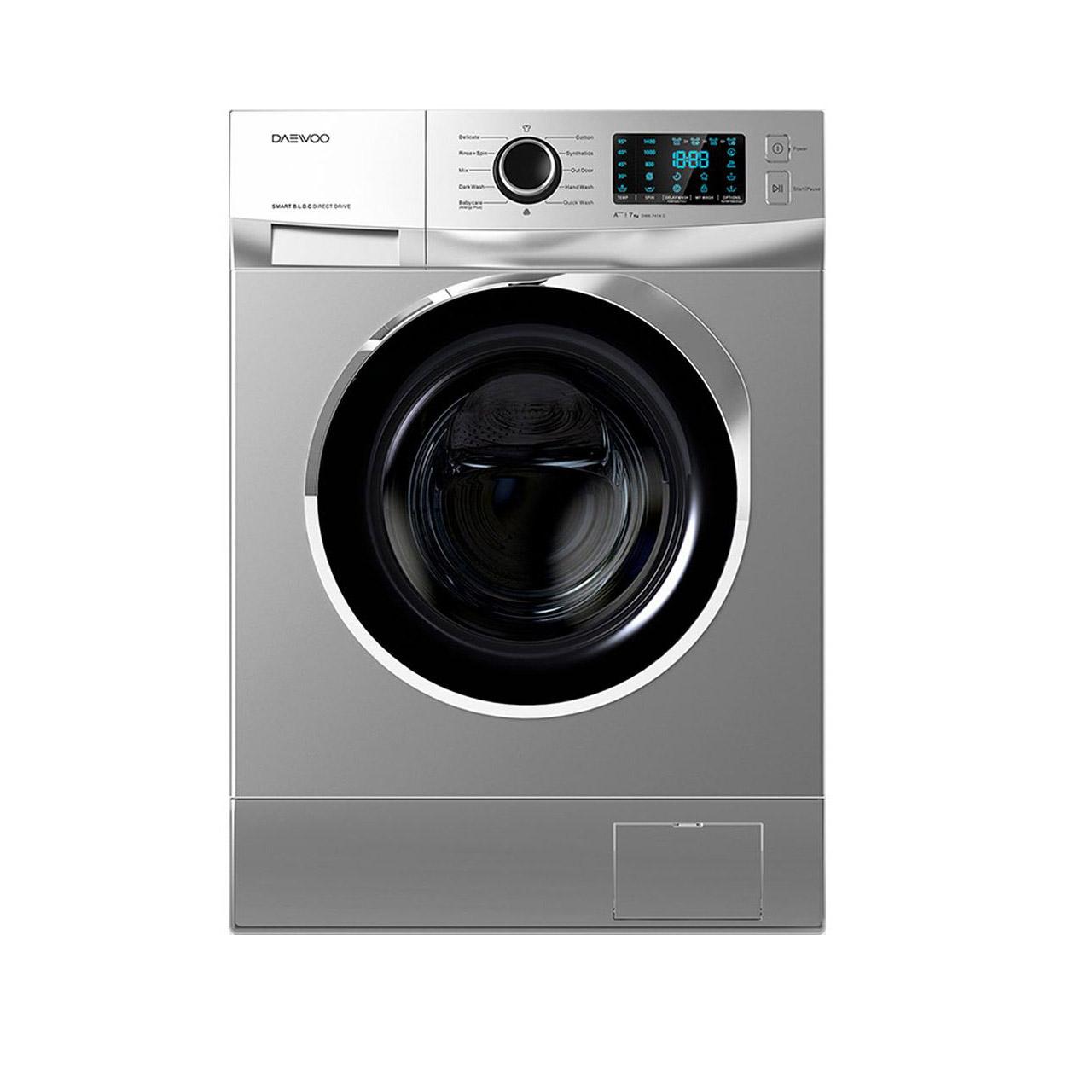 ماشین لباسشویی دوو مدل DWK-7414 ظرفیت 7 کیلوگرم