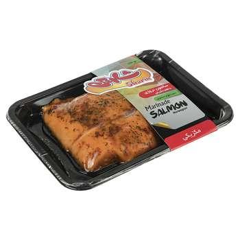 ماهی سالمون منجمد نروژی با طعم مکزیکی شارین مقدار 350 گرم