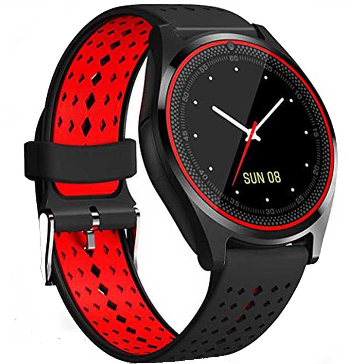 ساعت هوشمند مدل V9 همراه بند اضافه