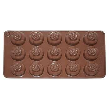 قالب شکلات مدل گل رز