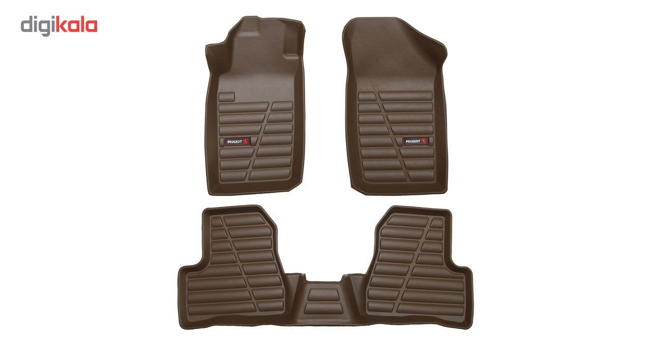 کفپوش سه بعدی خودرو لاستیک گیلان مناسب برای پژو 206 main 1 10