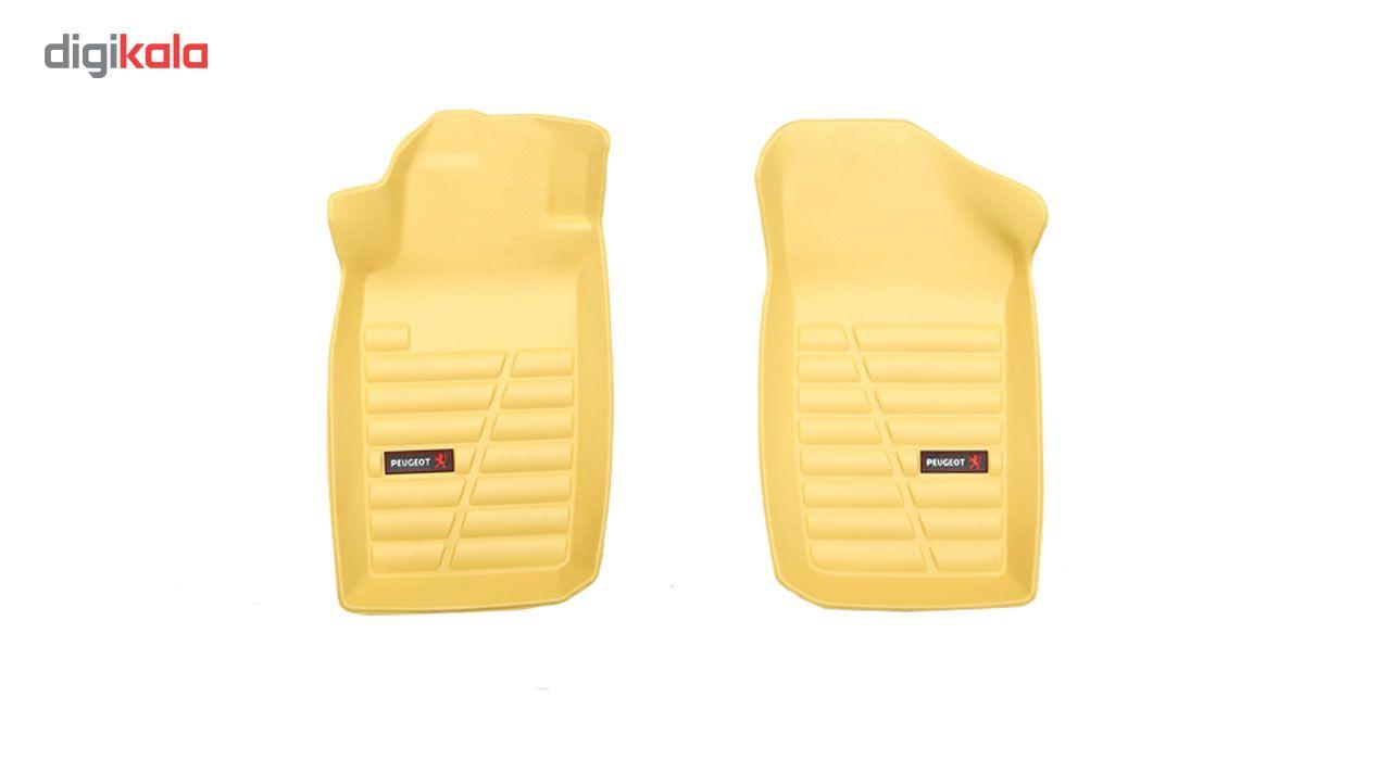 کفپوش سه بعدی خودرو لاستیک گیلان مناسب برای پژو 206 main 1 14
