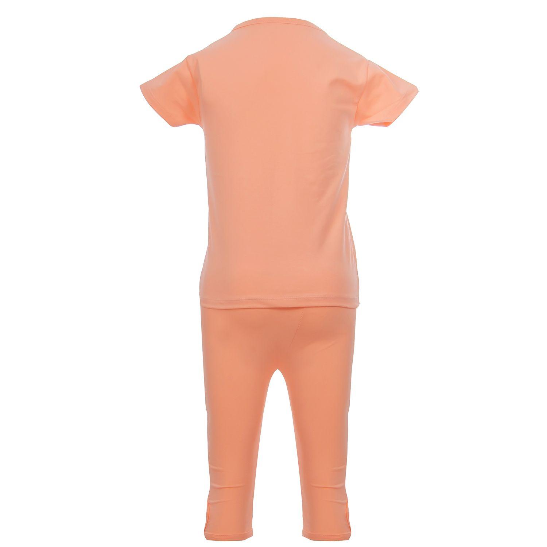 ست تیشرت و شلوارک دخترانه طرح FelizJueves کد 0757 -  - 4