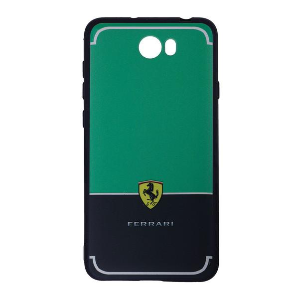 عنوان : کاور NXE DESIGN مدل well - FERRARI مناسب برای گوشی موبایل ||  HUAWEI Y3