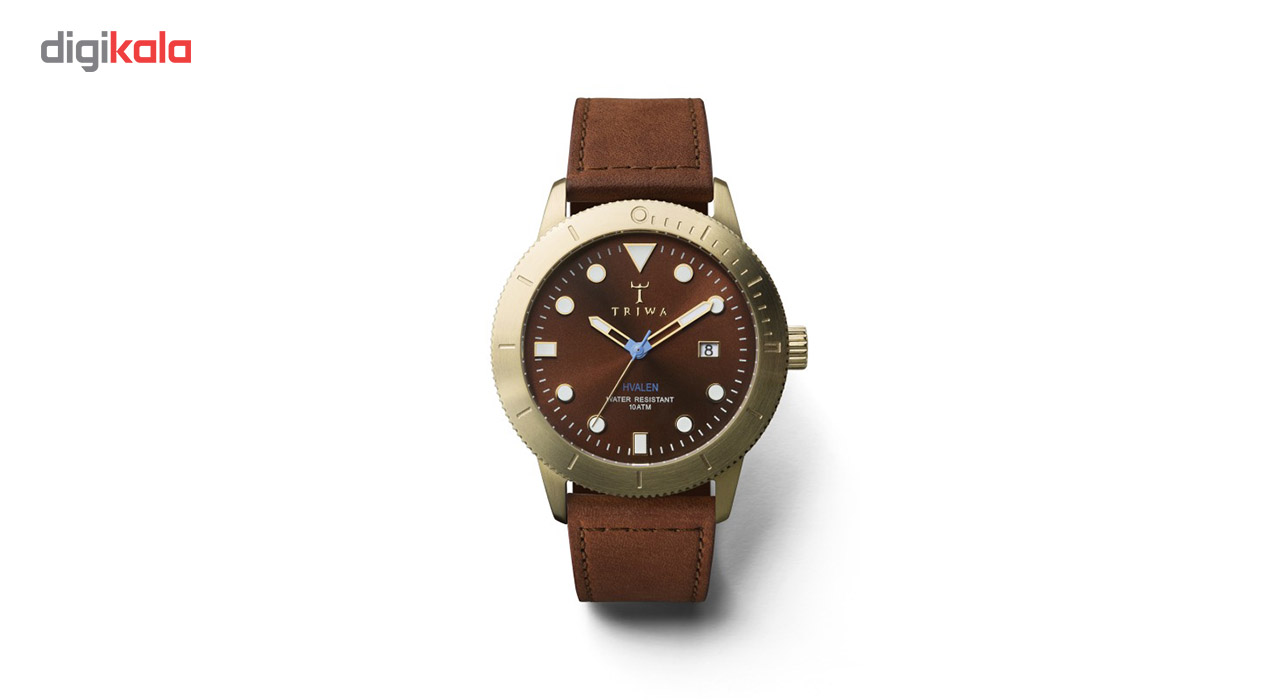 خرید ساعت مچی عقربه ای تریوا مدل Chestnut Hvalen
