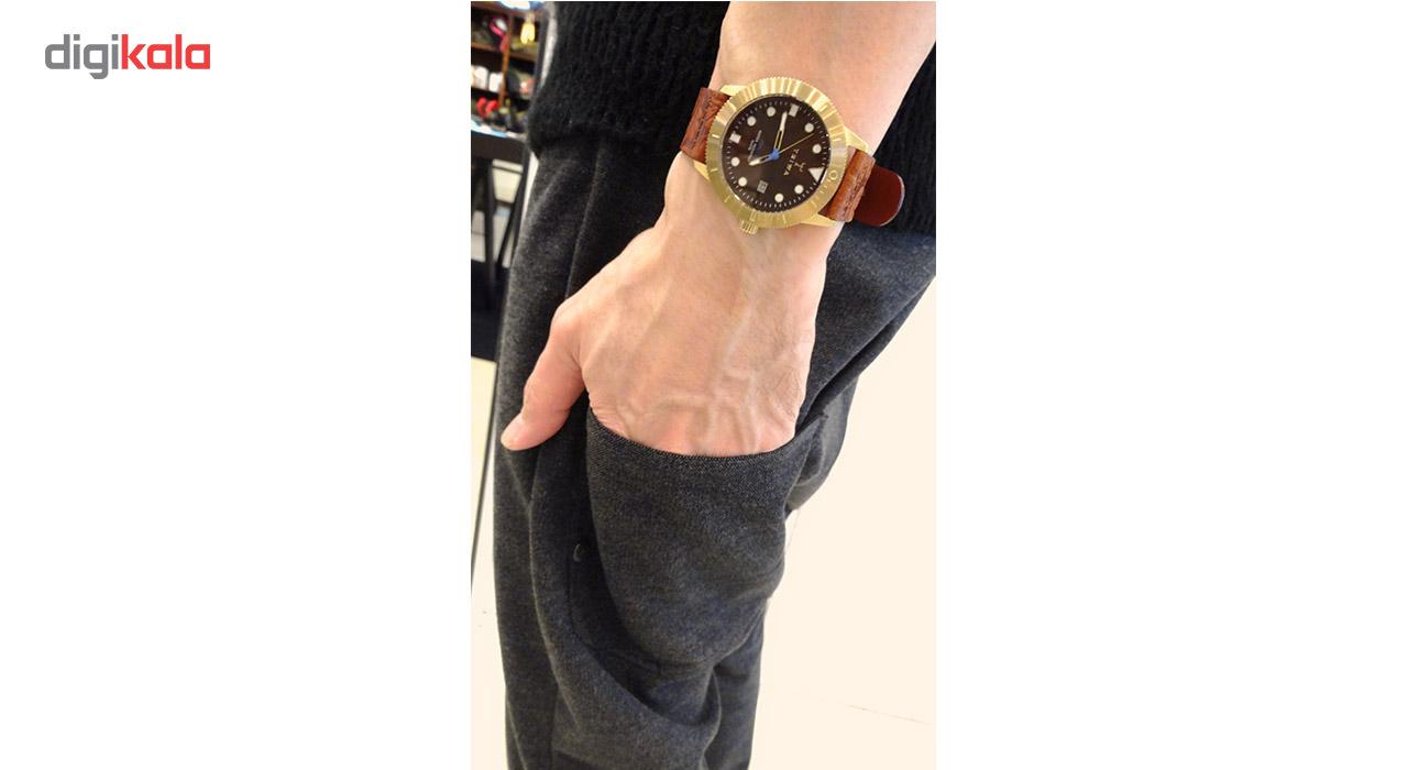 ساعت مچی عقربه ای تریوا مدل Chestnut Hvalen