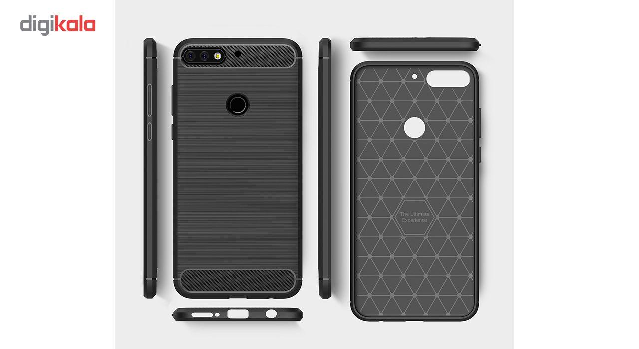 کاور گوشی مدل Fiber Tpu مناسب برای هوآوی Y7 Prime 2018 main 1 2