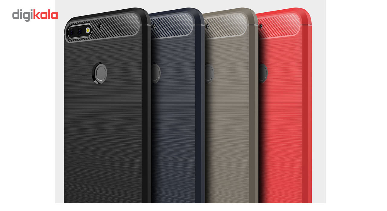 کاور گوشی مدل Fiber Tpu مناسب برای هوآوی Y7 Prime 2018 main 1 3