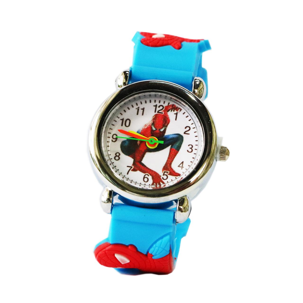 ساعت مچی عقربه ای بچگانه مدل Spiderman-5843