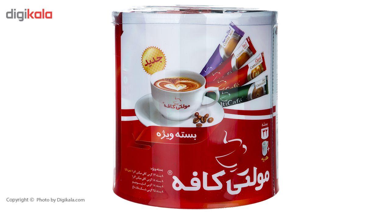 بسته ویژه مولتی کافه مقدار 600 گرم بسته 32 عددی به همراه ماگ هدیه main 1 3