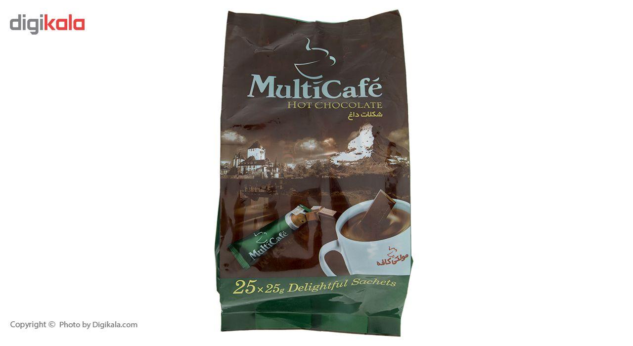 هات چاکلت مولتی کافه مقدار 625 گرم بسته 25 عددی main 1 3